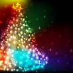 Shining Christmas background — Stock Vector