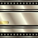 Metallic silver background — Stock Vector