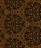 Abstract seamless pattern of yellow lines — Stok Vektör