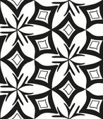Seamless monochrome pattern 5 — Stockvektor