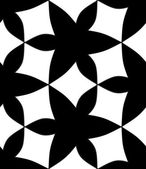 Seamless monochrome pattern 7 — Stock vektor