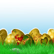 Festive Easter background — Stock Vector #42971305