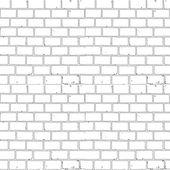 Seamless monochrome background brick — Stockvektor