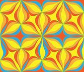抽象的无缝颜色样式 2 — 图库矢量图片