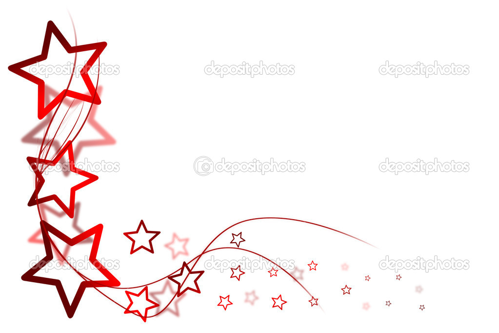 Christmas background for your designs with red stars — Stock Photo #13928567