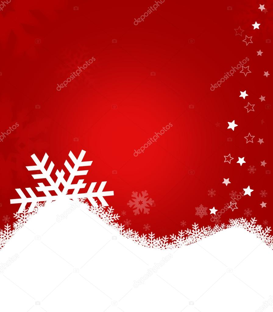 Christmas background for your designs with stars and snowflakes  Stock Photo #15387555