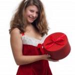 Christmas Woman — Stock Photo #16211027