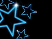 Glowing Stars — Zdjęcie stockowe