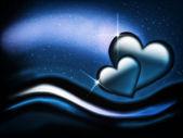 Valentinstag-karte — Stockfoto
