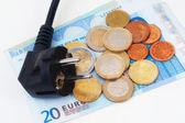 Euro Plug — Stock Photo