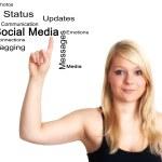 Social Media concept — Stock Photo #18978469