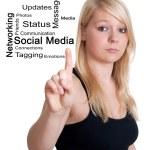Social Media concept — Stock Photo #19065787