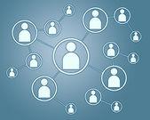 Netwerk verbindingen concept — Stockfoto