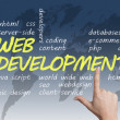 Web Development — Stock Photo #24082099