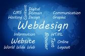 Conceito de webdesign — Fotografia Stock