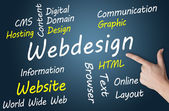 Concetto di webdesign — Foto Stock