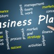 Business Plan wordcloud — Stock Photo