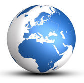 World globe — Stock Photo