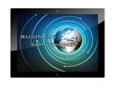 Tablet Business Solutions — Stock Photo