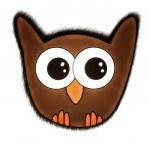 Cute Owl — Stock Photo