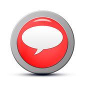 Chat-Symbol — Stockfoto