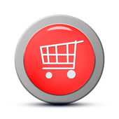 Purchasing cart icon — Stock Photo