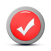 Validate icon — Stock Photo