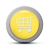 Purchasing cart icon — Stock Photo