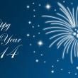 Silvester Background 2014 — Stock Photo