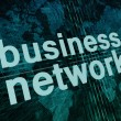 Business Network — Stock Photo