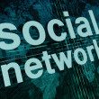 Social Network — Stock Photo #26826223