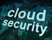 Cloud Security — Stock fotografie