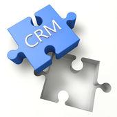 Puzzle CRM — Stock Photo