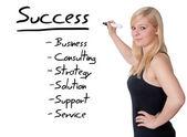 успех — Стоковое фото