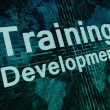 Training Development — Stock Photo