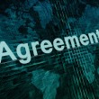 Agreement — Stockfoto