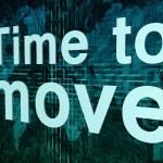 移動する時間 — ストック写真