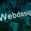 Webdesign — Stock Photo