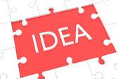 Puzzle Idea concept — Stock Photo