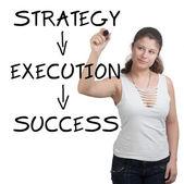Başarı kavramı — Stok fotoğraf