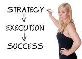 Success concept — Stok fotoğraf
