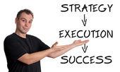 Konceptet Success — Stockfoto