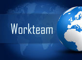 Workteam — Stock Photo
