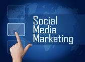 社会的なメディア マーケティング — ストック写真