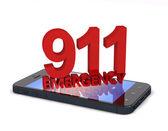Teléfono 911 — Foto de Stock