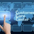 Customer Care Center — Stock Photo