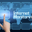 Internet Monitoring — Foto Stock