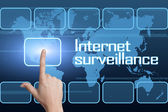 Internet surveillance — Stock Photo