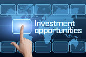 Investment opportunities — Stock Photo