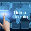 Foto de Stock  : Online Training